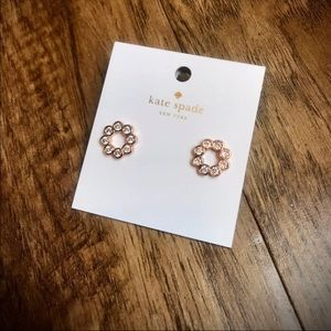 🆕Rose gold Kate Spade earrings